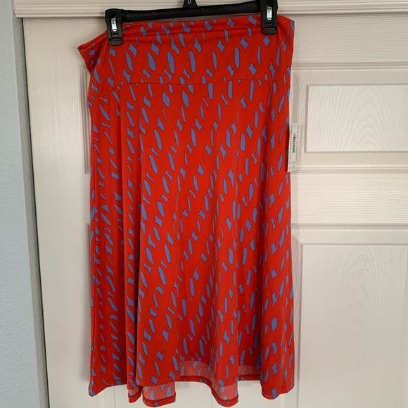 5 For $20❗️LuLaRoe Azure Skirt (Retired)